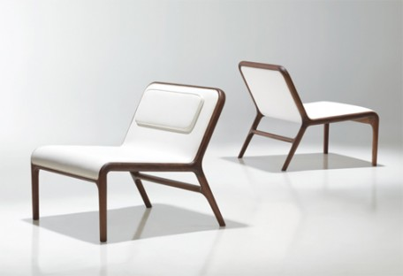 Hyde Lounge Chair by Fredrikson Stallard